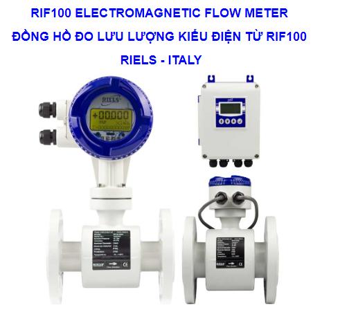 Đồng hồ đo lưu lượng RIF100 Riels - Đại lý Riels Việt Nam