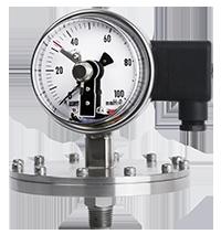 Đồng hồ áp suất có tiếp điểm rờ le P570 - Đại lý Wise Việt Nam