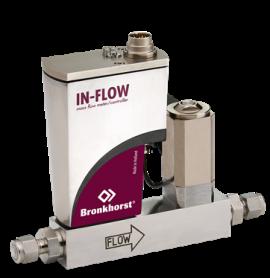 Bộ điều khiển lưu lượng nhiệt kiểu công nghiệp cho khí F-200CI Bronkhorst