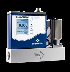 Bộ điều khiển lưu lượng nhiệt trực tiếp cho khí D-6361/002BI MFC Bronkhorst
