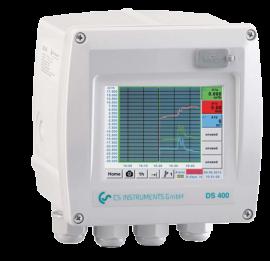 Chart recorder - Máy ghi biểu đồ lưu lượng khí nén DS 400 CS intrument tại Việt Nam