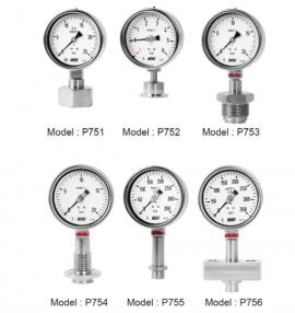 Đồng hồ đo áp suất P756 Wise - Đại lý Wisecontrol Việt Nam