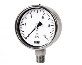Đồng hồ đo áp suất thấp P422 Wise - Đại lý Wisecontrol Việt Nam