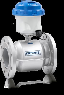 Đồng hồ đo lưu lượng nước kiểu điện từ WATERFLUX 3070 Krohne tại Việt Nam