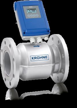 Đồng hồ đo lưu lượng nước kiểu điện từ WATERFLUX 3100 Krohne tại Việt Nam