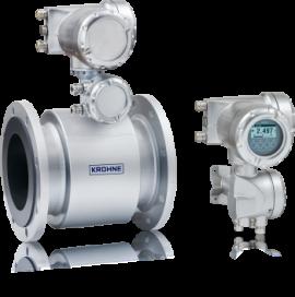 Đồng hồ đo lưu lượng nước thải kiểu điện từ TIDALFLUX 2300 Krohne tại Việt Nam