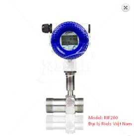 Đồng hồ đo lưu lượng tuabin RIF200 có màn hình Riels Việt Nam