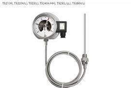 Đồng hồ đo nhiệt độ T521 Wise - Đại lý Wisecontrol Việt nam