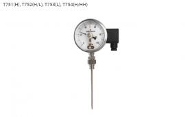 Đồng hồ đo nhiệt độ T751 Wise - Đại lý Wisecontrol Việt Nam