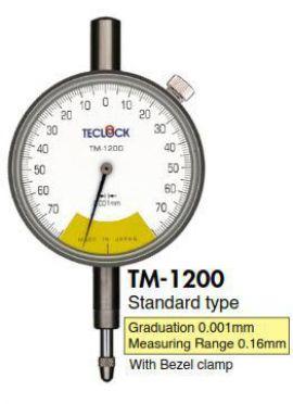 Đồng hồ so model TM1200 Teclock - Đại lý Teclock Việt Nam