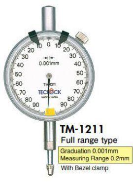 Đồng hồ so model TM1211 Teclock - Đại lý Teclock Việt Nam