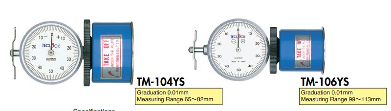 Dụng cụ đo độ lệch của trục TM-104YS-Teclock VietNam-Teclock TMP