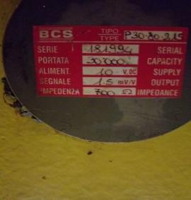 Dụng cụ đo lực nén P-30.80.215 BCS Italia - Đại lý phân phối BCS tại Việt Nam
