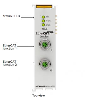 EtherCAT EK1122-0008 Beckhoff - Đại lý Beckhoff tại Việt Nam