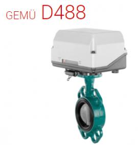 GEMU D488 Victoria Motorized butterfly valve - Đại lý phân phối Gemu tại Việt Nam