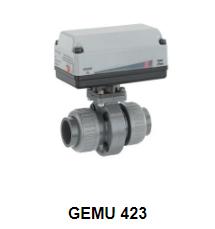 Motorized butterfly valve GEMU 423 - Đại lý phân phối Gemu tại Việt Nam