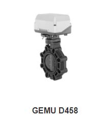 Motorized butterfly valve GEMU D458 - Đại lý phân phối chính hãng Gemu Việt Nam