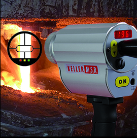 Súng bắn nhiệt độ hồng ngoại PT 120 - Đại lý Keller IST VietNam