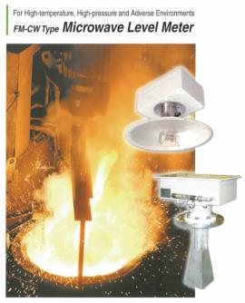 Thiết bị đo mức trong lò luyện kim MWLM-FMP-M Đại lý Matsushima Việt Nam