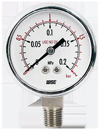 Đồng hồ đo áp suất Model: P113_Wise Việt Nam